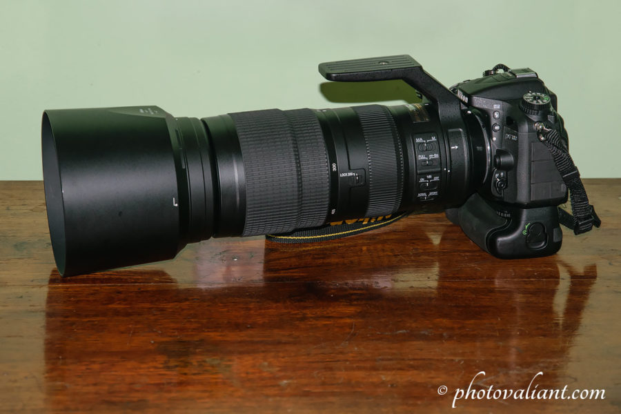 Nikon 200-500mm f5.6E mounted on D7100 for bird photography