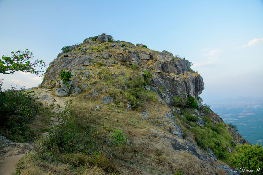 A rock on the hill - Ramakkalmedu
